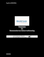Prospectus Wereld Fonds 1.01